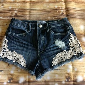 Lace & Denim Jeans